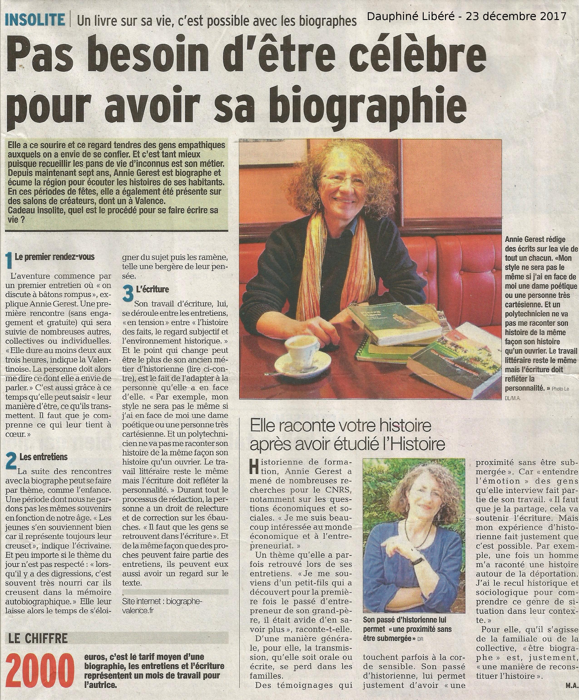 Biographe Familiale L Etoffe De Vos Jours